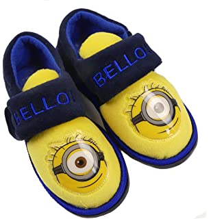 Official Minions Kid's Slippers (10-11 UK Kids) VLEI7lFXsT