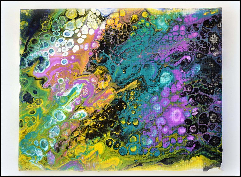 Amazon Com Abstract Art Acrylic Art Painting Liquid Art