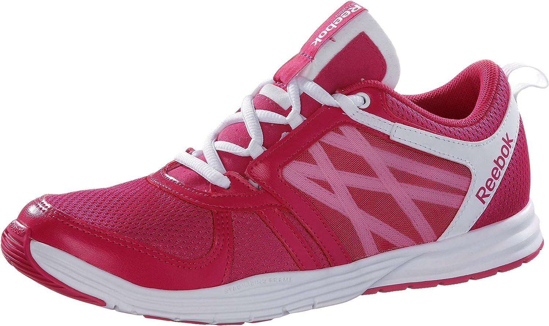 Reebok Sublite Studio Flame Low Zapatillas de correr para mujer, fucsia/blanco, 37.5 EU: Amazon.es: Deportes y aire libre
