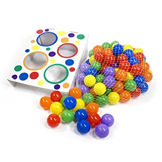 Wonder Playball 100 with Toss Zone Game, Multi-Color