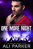 One More Night #3: Backstage Pass #3