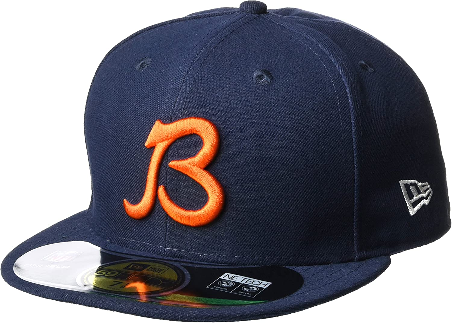 good out x buy popular hot product Amazon.com : New Era 59fifty Fitted Nfl Hat Chicago Bears : Cold ...