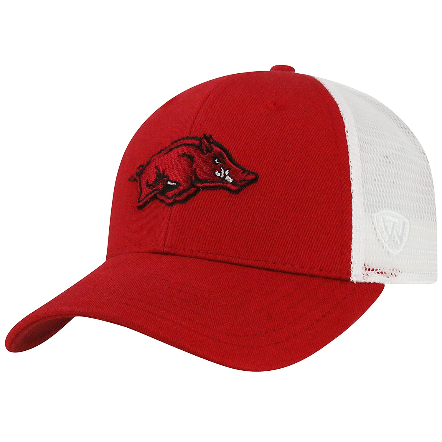 factory price e605c 0ebed sale amazon top of the world arkansas razorbacks official ncaa adjustable  classmen mesh hat cap by