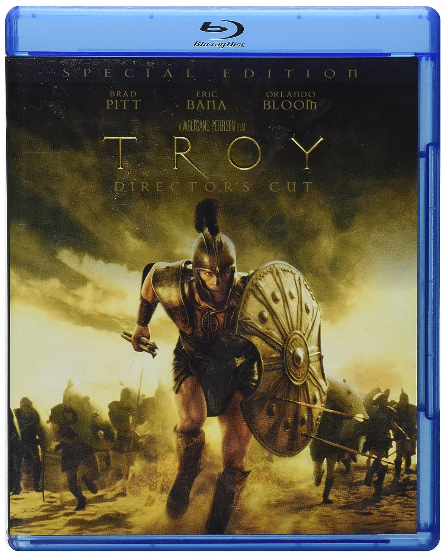 Amazon Com Troy Director S Cut Special Edition Blu Ray Brad Pitt Eric Bana Orlando Bloom Wolfgang Petersen Movies Tv