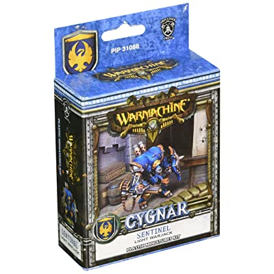 Privateer Press - Cygnar - Sentinel Light Warjack (Plastic) Model Kit: Toys & Games