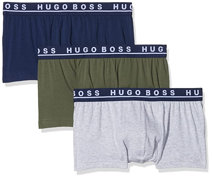 Trunk 3p Co/El, Bóxer para Hombre, Multicolor (Open Miscellaneous 971), X-Large(Pack de 3) BOSS
