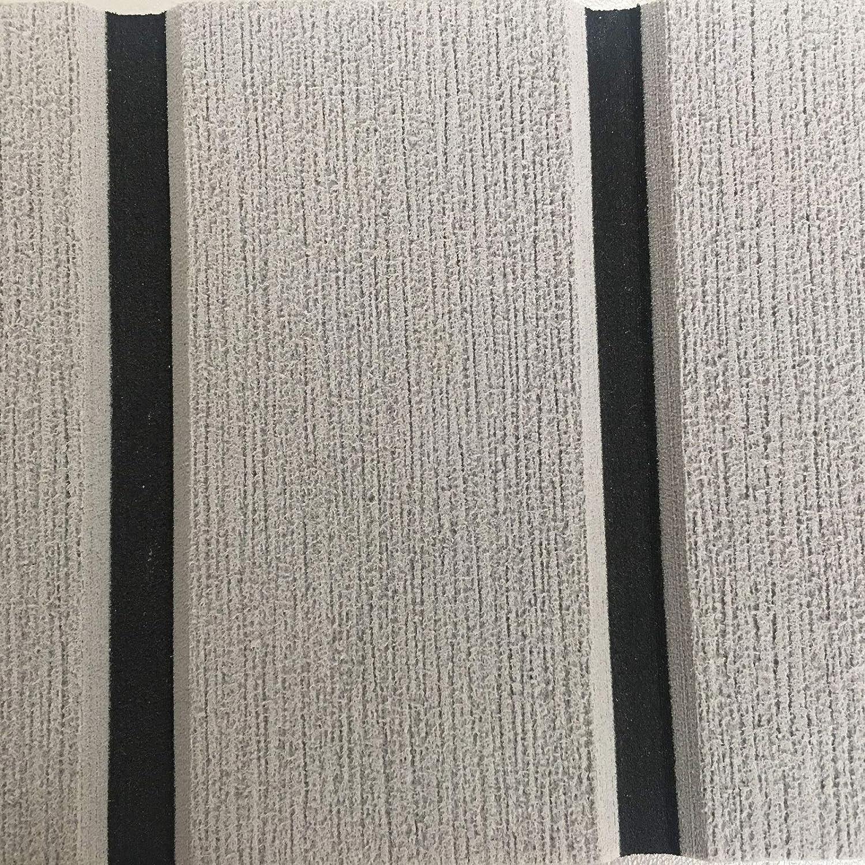 yuanjiasheng 94.5x35.4 Alfombrilla Antideslizante de Espuma EVA Marino Cubierta Teca Sintetica Suelos para Barcos Yate