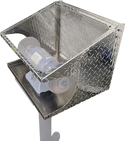 Prime Bench Grinder Guard Enclosureberk Box Creativecarmelina Interior Chair Design Creativecarmelinacom