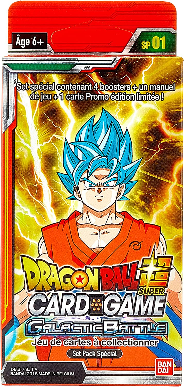 Dragon Ball – Super Card Game – Special Pack 1 x 6, 604696: Amazon ...