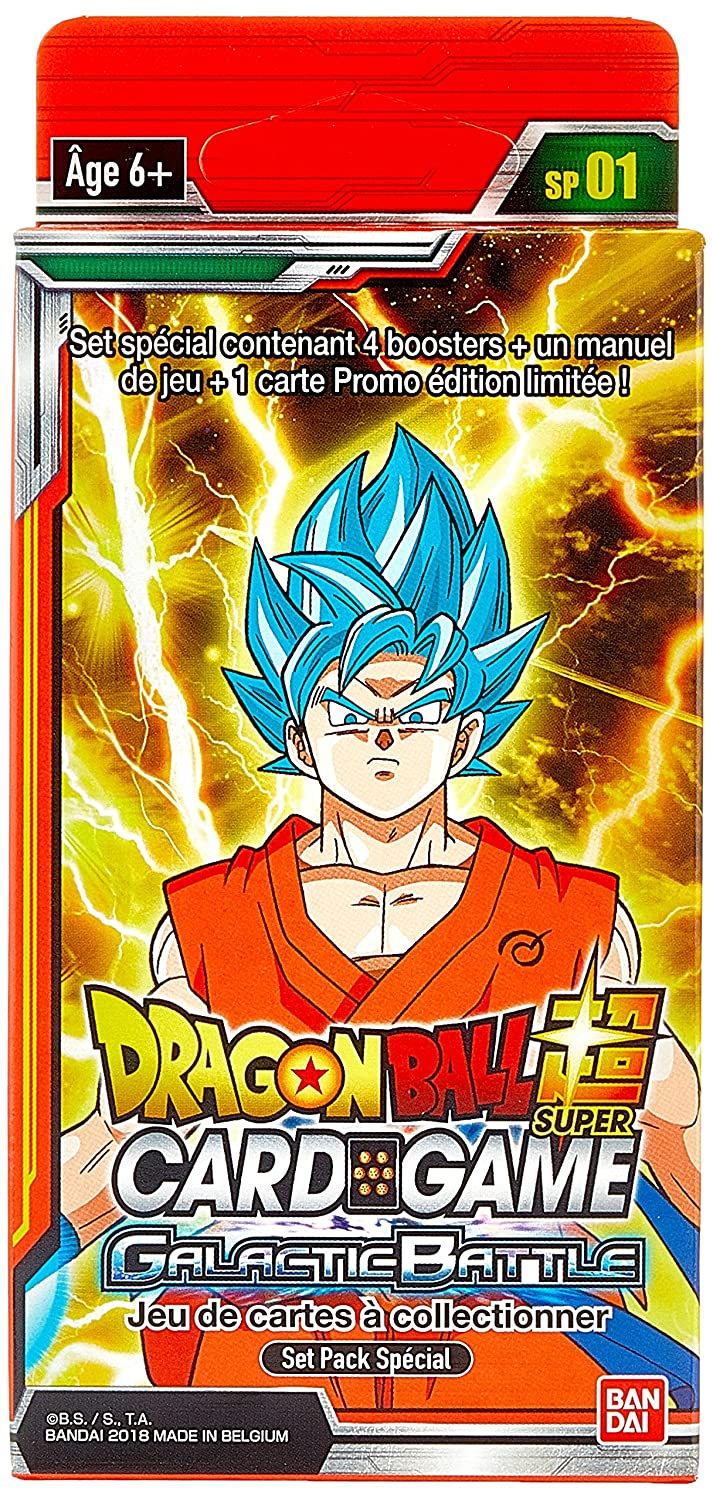 Dragon Ball - Super Card Game - Special Pack 1 x 6, 604696 ...
