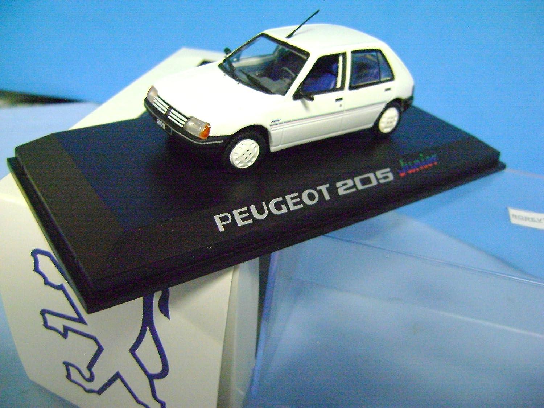 NOREV PEUGEOT 205 JUNIOR MODELS CARS 1/43 METAL COCHES modelismo: Amazon.es: Juguetes y juegos