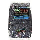 GloFish Aquarium Gravel, Black with White Fluorescent