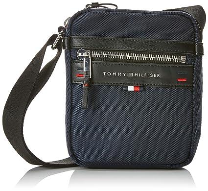 81798820f6 Tommy Hilfiger Elevated Mini Reporter, Sacs portés épaule homme, Bleu (Tommy  Navy/