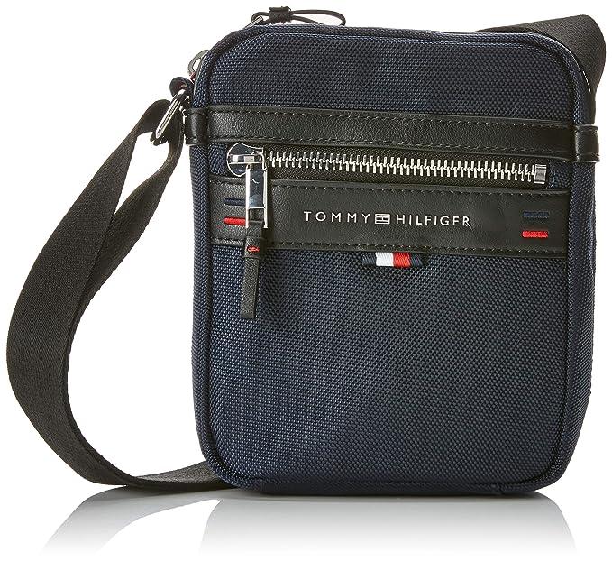 588df3d8 Tommy Hilfiger Elevated Mini Reporter, Men's Shoulder Bag, Blue (Tommy Navy /Core