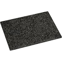 Premier Housewares Planche à découper rectangulaire Granite Noir moucheté 40 x 30 cm