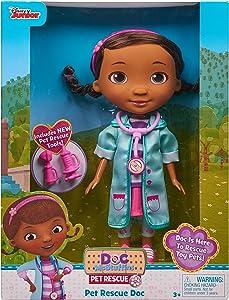 """Doc McStuffins Pet Rescue 8.5"""" Doc Doll"""