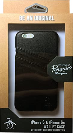 finest selection 3281d f73a5 Original Penguin Black Credit Card Slot Wallet Phone Case fits ...