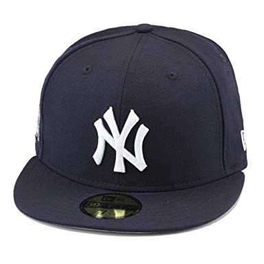 0280482f8c21b New Era New York Yankees Fitted Hat Cap 27 World Series Chapmions Patch (7)