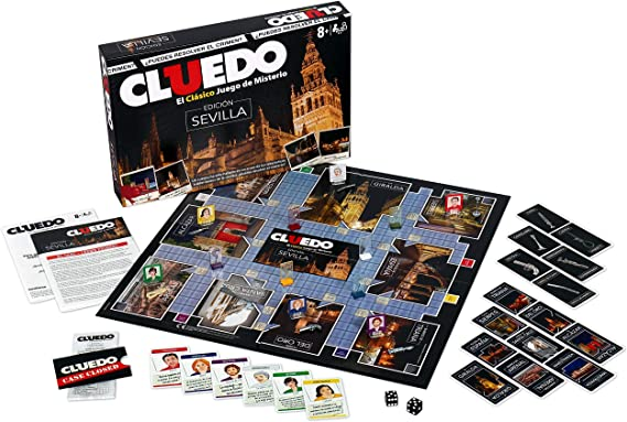 Winning Moves Cluedo Sevilla (10209), multicolor (ELEVEN FORCE: Amazon.es: Juguetes y juegos