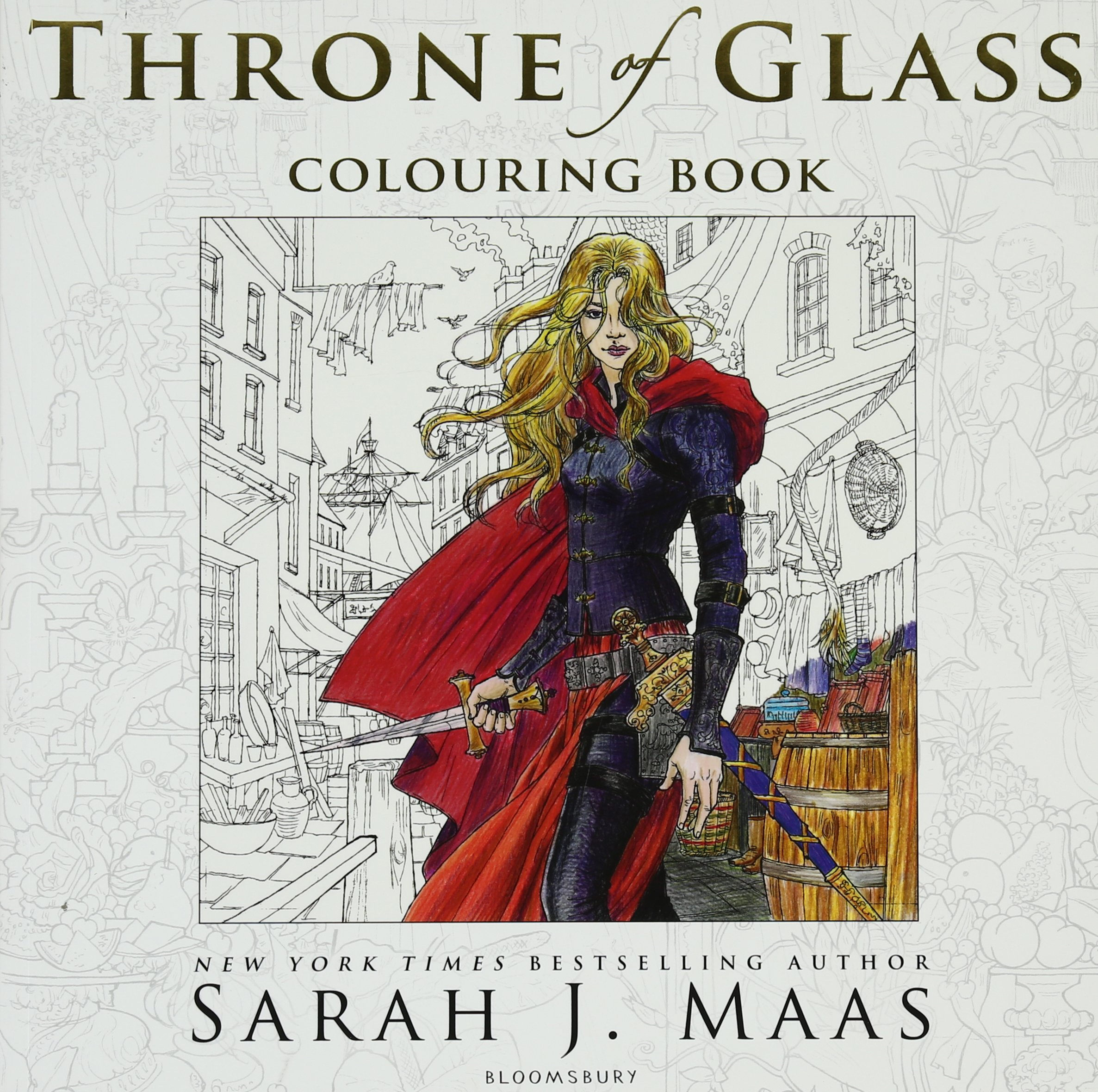 Amazon The Throne Of Glass Colouring Book 9781408881422 Sarah J Maas Yvonne Gilbert John Howe Craig Phillips Books