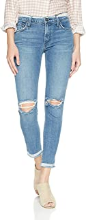 product image for James Jeans Women's J Twiggy Mid Rise Ankle Length Jean in Skinny Dip