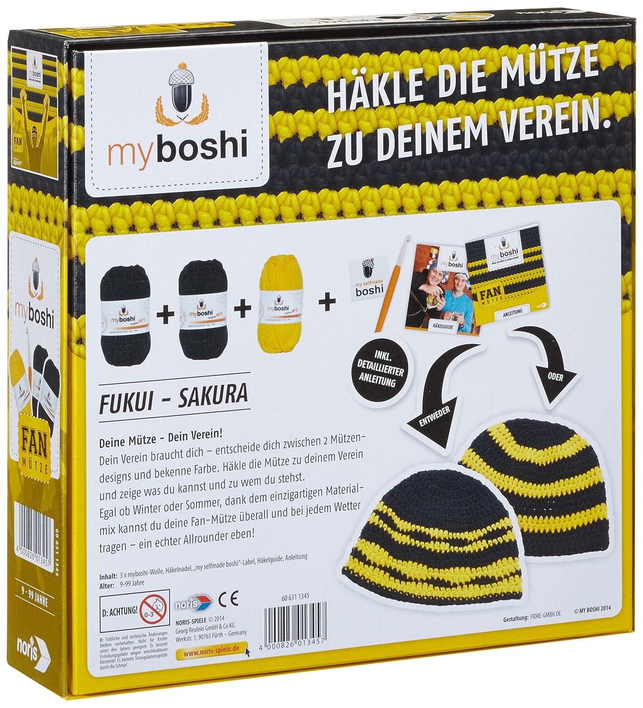 Noris Spiele 606311345 My Boshi Fan Mütze In Den Vereinsfarben