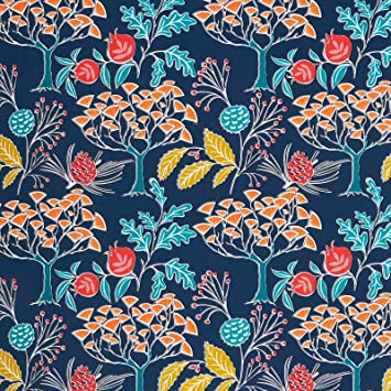 Melwod Vintage Floral Navy Blue Peel And Stick Removable Wallpaper 17 71 X 78 7 Multicolor Decorative Wallpaper Self Adhesive Vinyl For Drawer Liner Shelf Cabinets Furniture Crafts Accent Walls Amazon Com