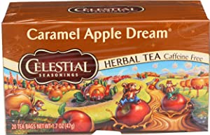 Celestial Seasonings Tea Caramel Apple Dream 20 bags