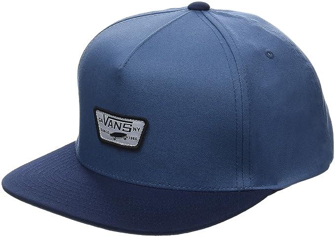 fa771e3398 Vans Apparel Herren Baseball Cap Mini Full Patch II Snapback Blau (Copen  Blue-Dress Blues