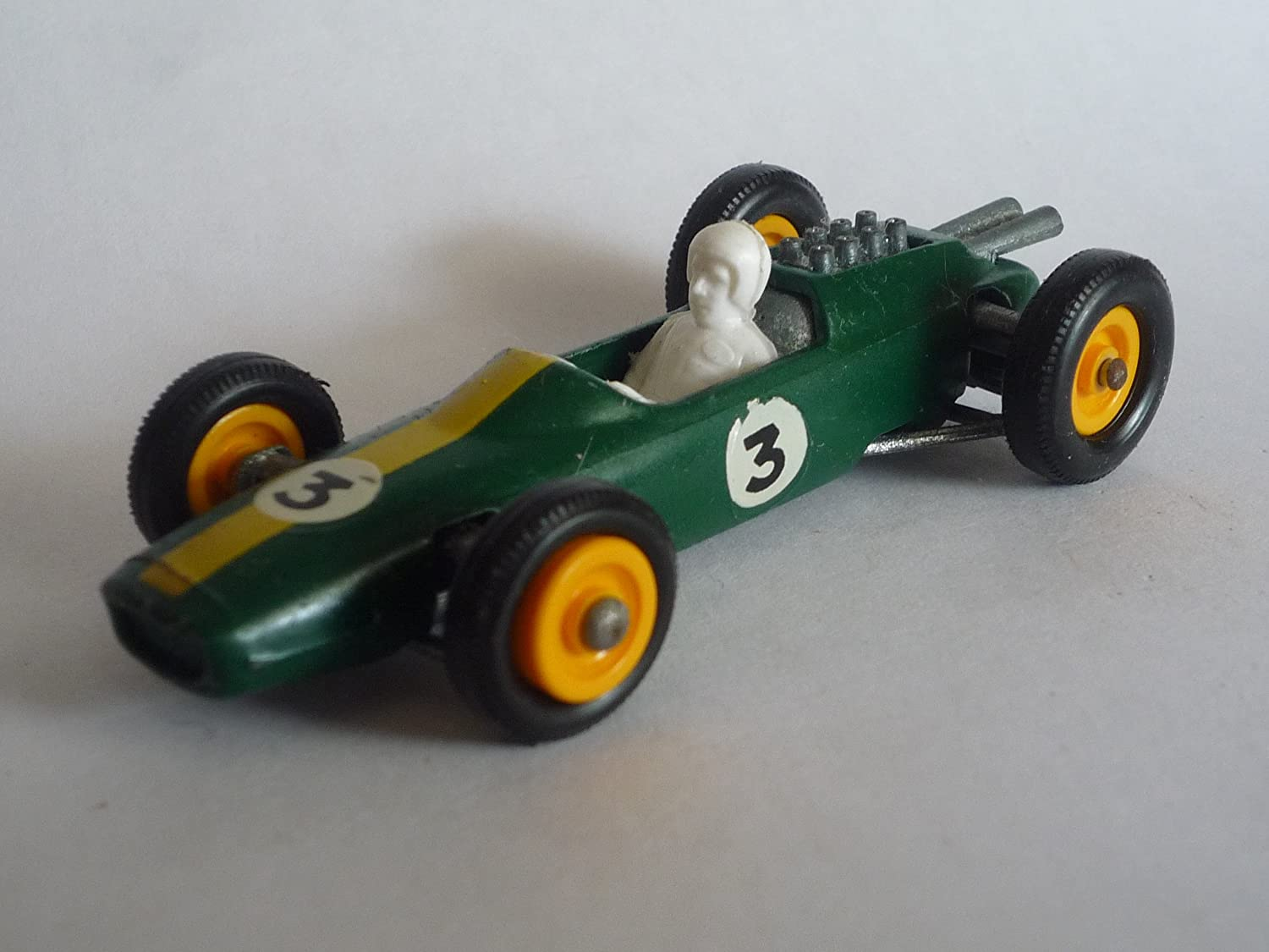 Amazon.com: MATCHBOX SERIES 1966 LESNEY 19D LOTUS RACING CAR: Toys ...