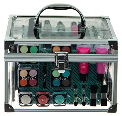 Technic Essentials Clear Carry Case Make Up Set
