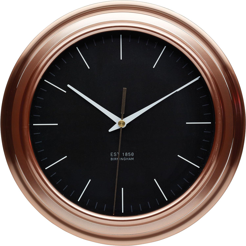 Cucina-Craft plastica Cucina Clock 25.5 cm Rame
