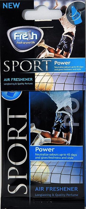 Amazon.com: Fresh Way DSP04 - Dry Sport Air Freshener (Power) 3 pack: Automotive