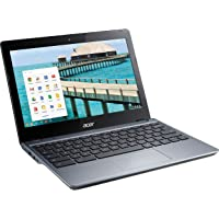 "Acer C720p-2625 11.6"" Touchscreen ChromeBook Intel Celeron 2955U Dual-core 1.40 GHz 4 GB RAM, 16 GB SSD, Chrome OS (Certified Refurbished)"