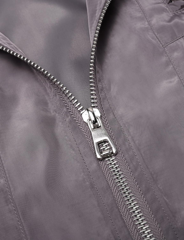 COOFANDY Mens Waterproof Rain Jacket Lightweight Outdoor Hooded Trenchcoat