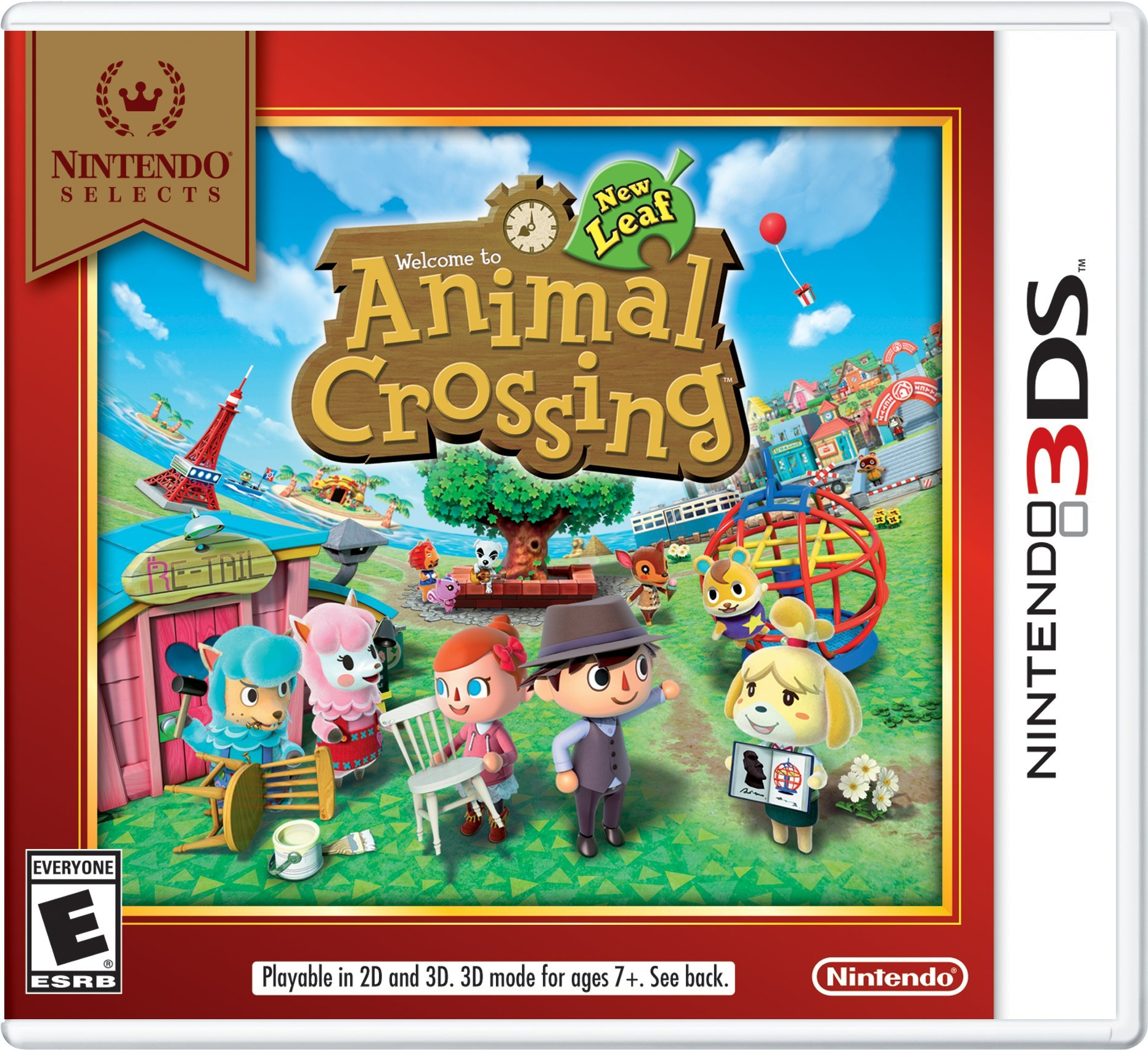 Amazon.com: Nintendo Selects: Animal Crossing: New Leaf ...