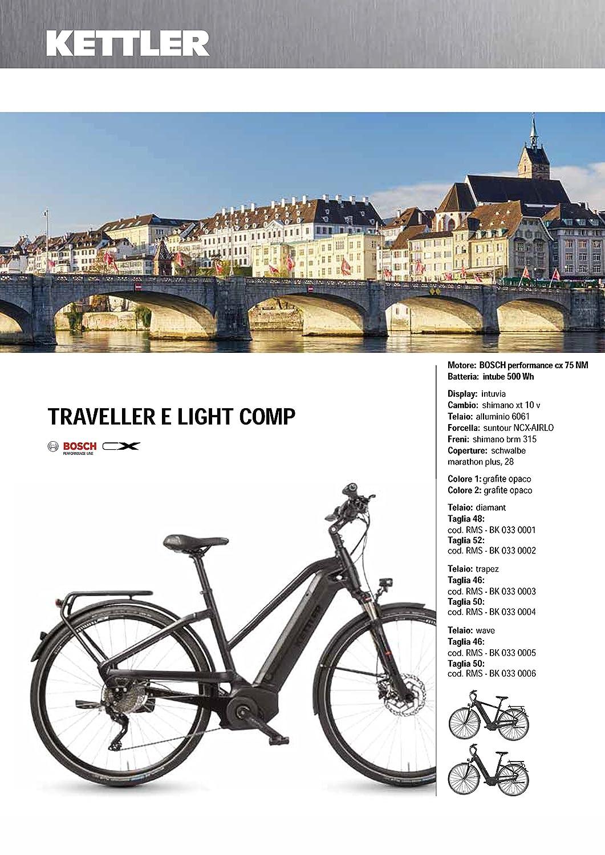 Ciclos ferrareis Kettler City Bike 28Traveller y Light Comp Ebike Cicli Ferrareis