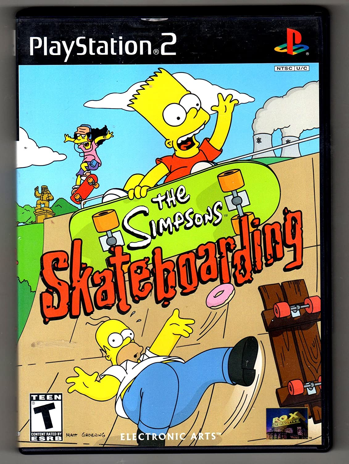 Amazon Com The Simpson S Skateboarding Artist Not Provided Video Games