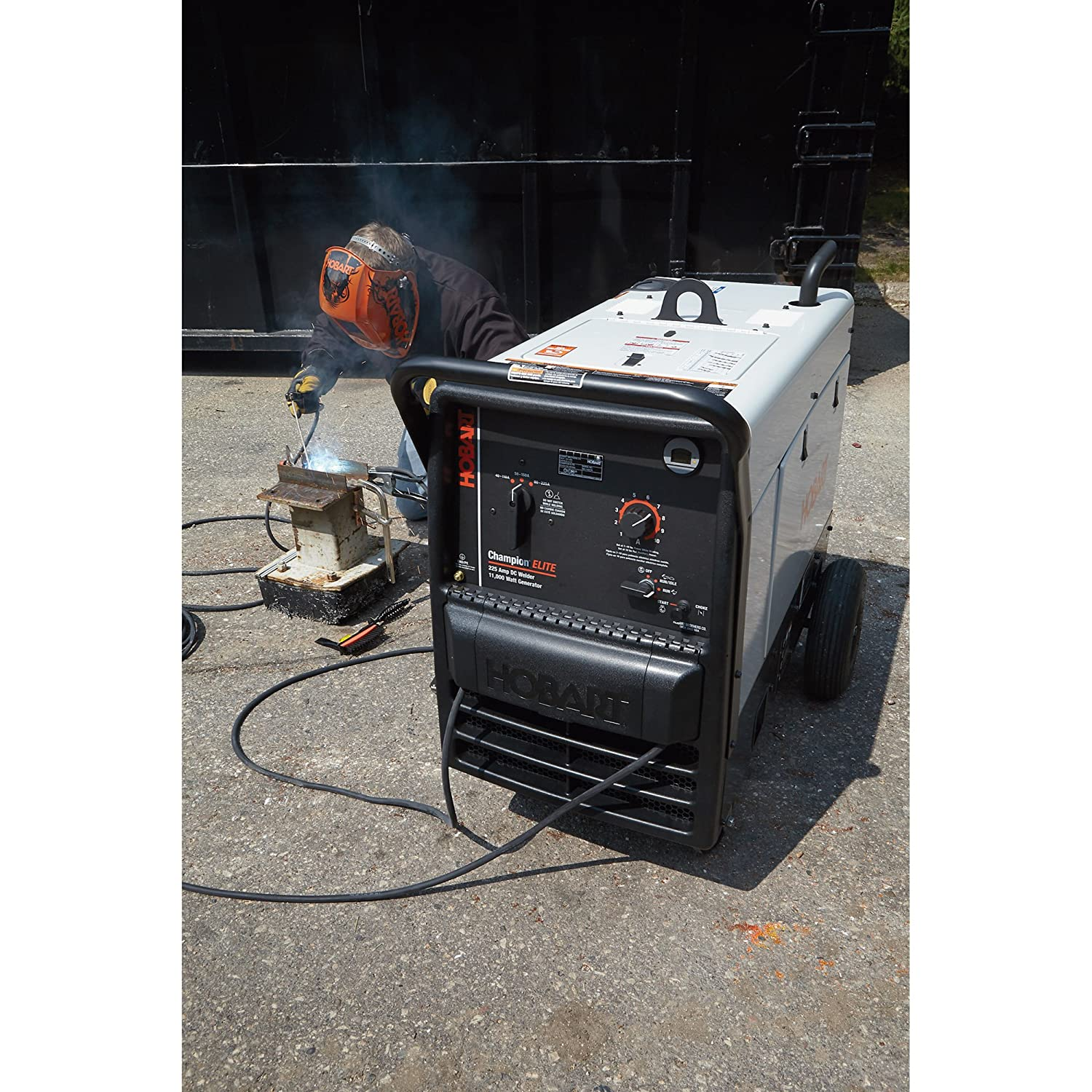 Hobart Champion Elite Welder Generator 23 Hp 11 000 Wiring Diagram Watts Model 500562 Garden Outdoor