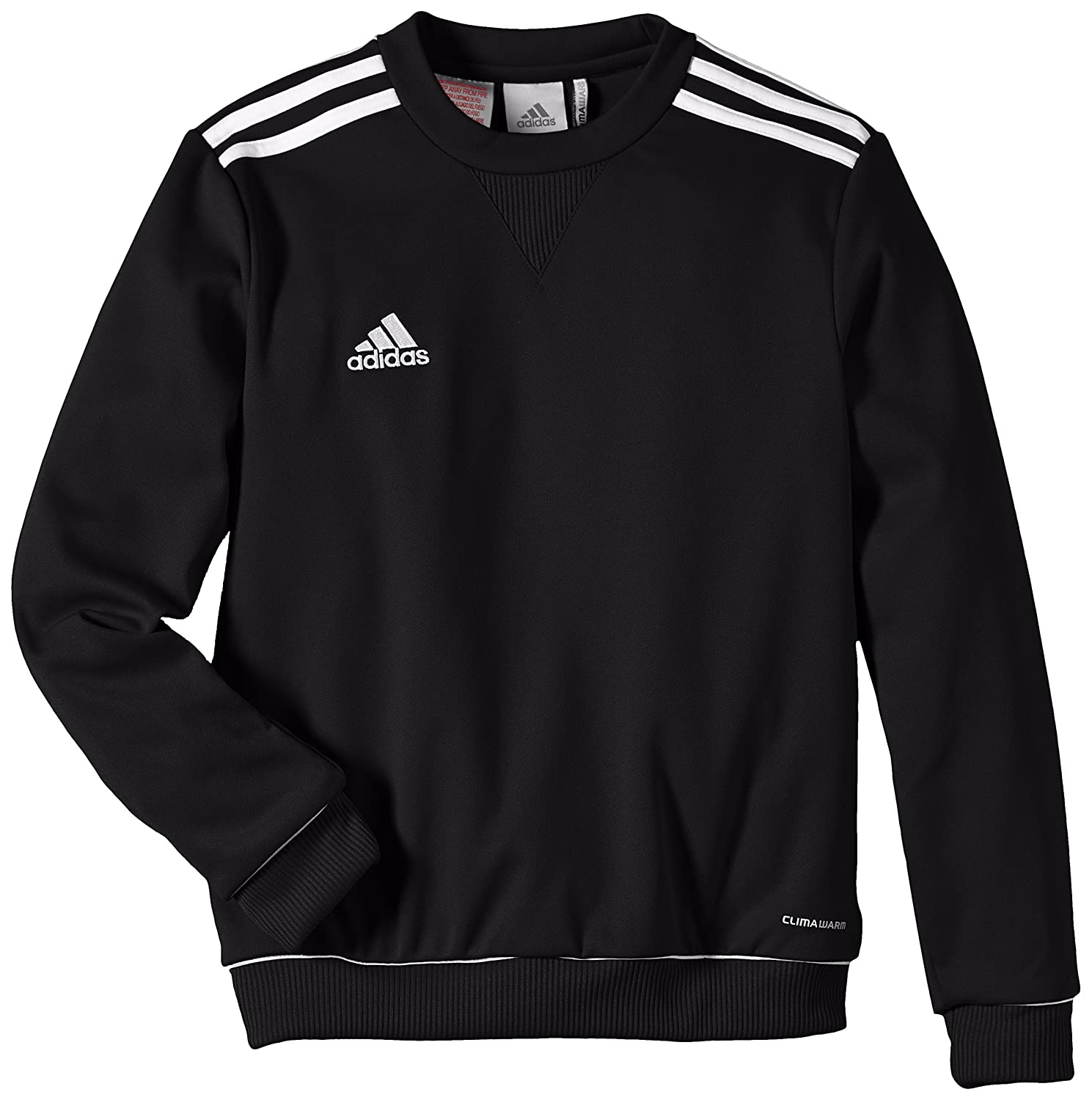 adidas Kinder Bekleidung Teamline Core 11 Sweat Top, Black/White, 140,  V39398: Amazon.de: Sport & Freizeit