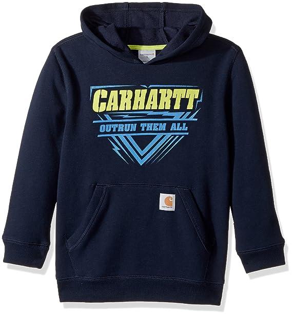 Carhartt - Sudadera de Manga Larga para niño - Azul - 7