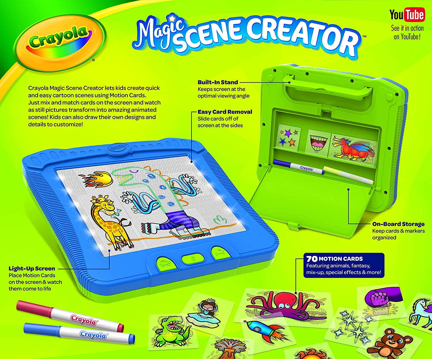 mamas on magic 107 9 at what age should kids cell how can i get a phone Amazon.com: Crayola Magic Scene Creator, Drawing Kit for Kids, Creative  Toys, Ages 3, 4, 5, 6, 7: Toys u0026 Games