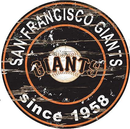 MLB San Francisco Giants 12 Team Color Logo State
