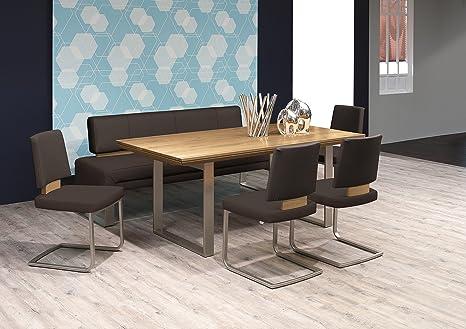 Tavolo Da Pranzo Moderno Con Panca.Sala Da Pranzo Set Tavolo 180 280 X 95 Cm Con Panca E