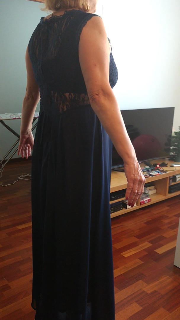 Amazon.es:Opiniones de clientes: MIOIM® Elegente vestido de la fiesta de noche sin manga costura de encaje atractivo delgado vestido de maxi verano para ...