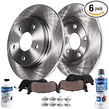 Fits: 2014 14 2015 15 Chevy Sonic Max Brakes Front Supreme Brake Kit OE Series Rotors + Ceramic Pads KM140841