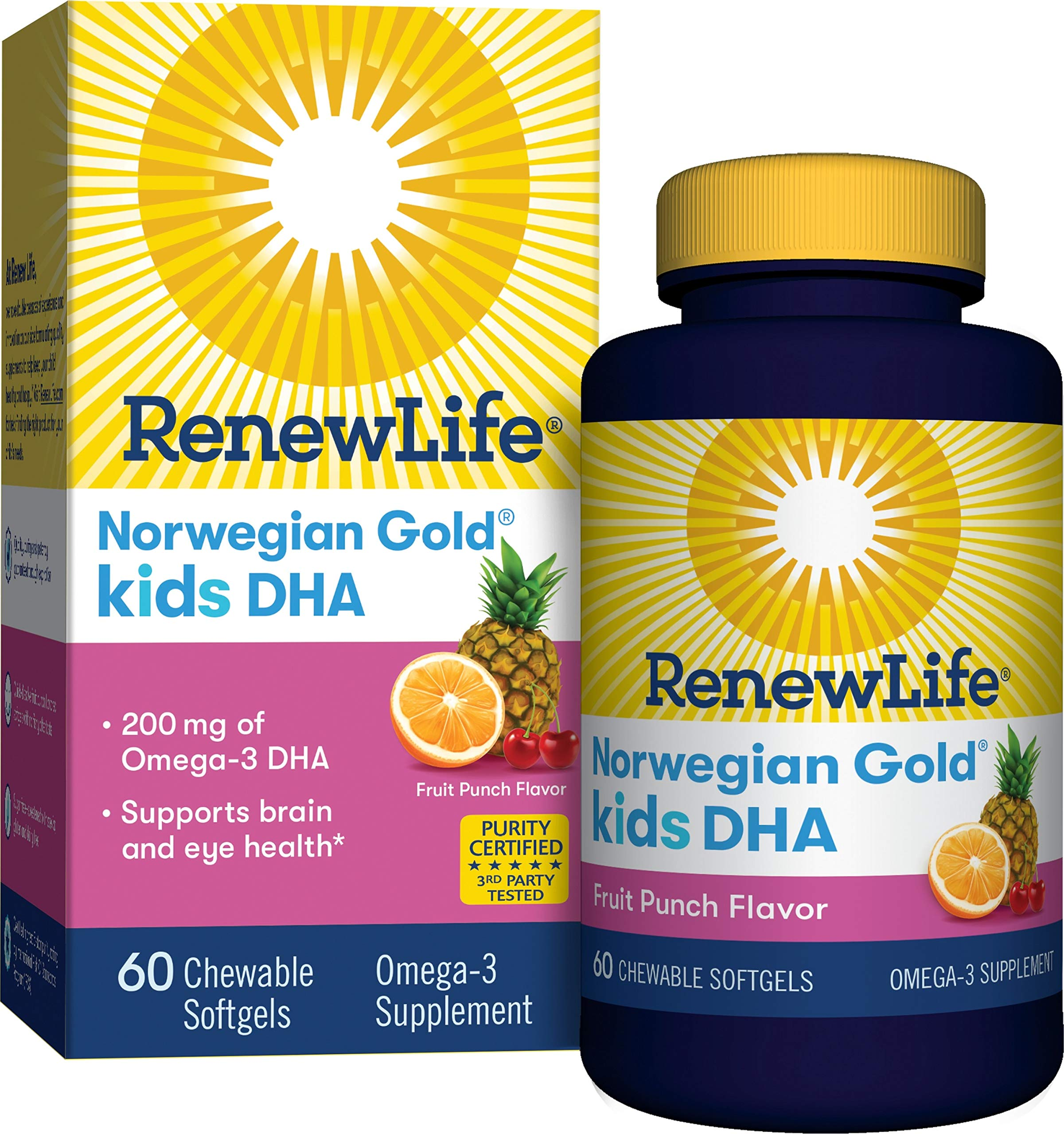 Renew Life NG Kids DHA Gels, 60 Count by Renew Life