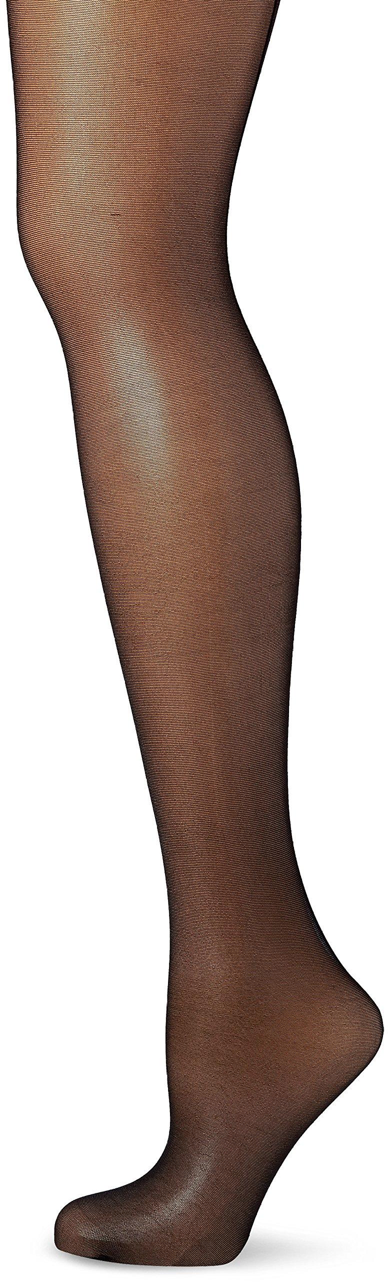 Miss O Seamed Open Crotch Pantyhose -Black-L/XL