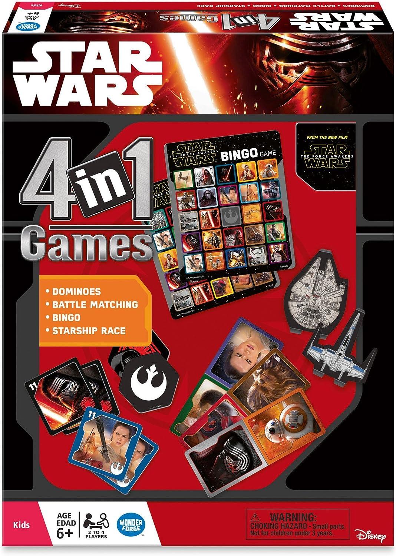 Ravensburger Star Wars Juego de 4 en una Caja: Amazon.es: Juguetes y juegos