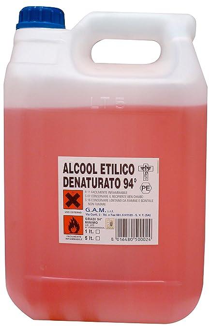 94° E Alcool Lt5Amazon Cucina Denaturato itCasa UzSMjqVLpG